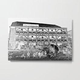 The Dickens Inn Pub London Metal Print