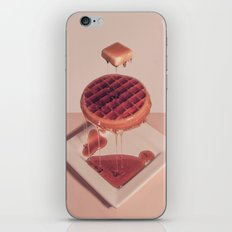 WAFFLE BUTTER AND SYRUP iPhone & iPod Skin