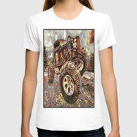 truck T-shirts featuring mud truck by Vector Art