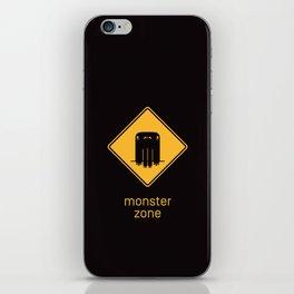 Monster Zone iPhone Skin