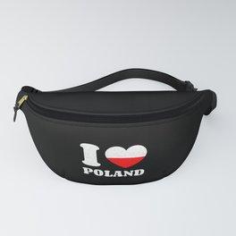 I Love Poland Fanny Pack