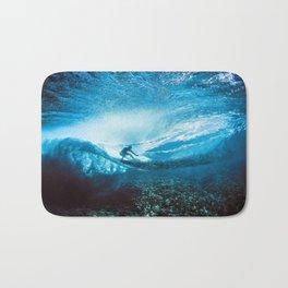 Wave Series Photograph No. 24 - Beneath the Surface Bath Mat