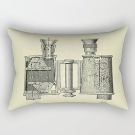 Binoculars Rectangular Pillow