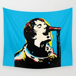Liam Gallagher Quote Portrait Wall Tapestry