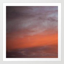 20 Minutes of Sky 3 Art Print