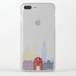 The Hague skyline poster Clear iPhone Case