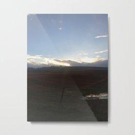 Landscape Scottish Countryside Metal Print