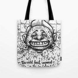Wer nicht furzt... Tote Bag