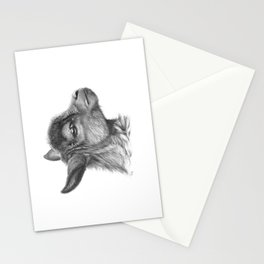 Goat baby G099 Stationery Cards