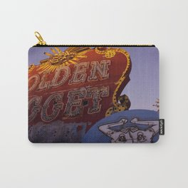 Golden Nugget Sign Carry-All Pouch