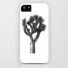 Joshua Tree Burns Canyon by CREYES iPhone Case
