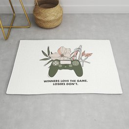 Winners quote Rug
