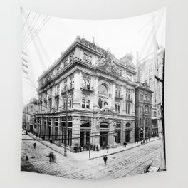 Cotton Exchange New Orleans 1881 Wall Tapestry
