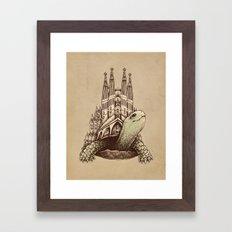 Slow Architecture Framed Art Print