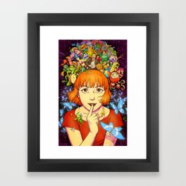 Into the Dream Framed Art Print