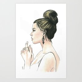 Damaris Art Print
