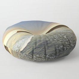 Saltburn-by-the-sea Floor Pillow