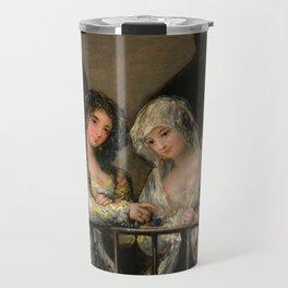 "Francisco Goya ""Majas on a Balcony"" Travel Mug"