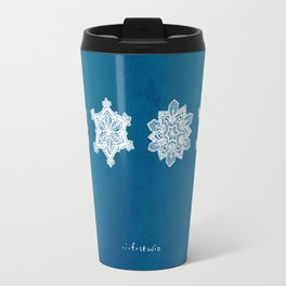 Snowflake II Travel Mug