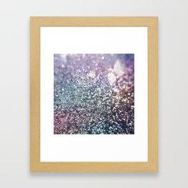 Glitter Sparkles Framed Art Print
