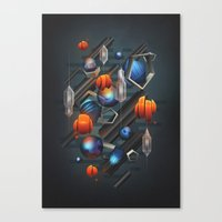 geo Canvas Prints featuring Geo by Tomas Brechler