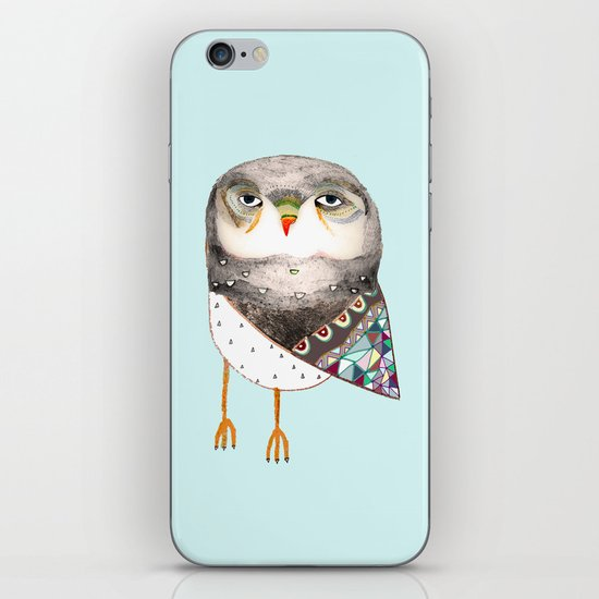 Owl by Ashley Percival iPhone & iPod Skin