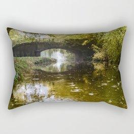Autumn at Lady's Bridge Rectangular Pillow