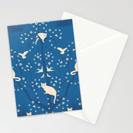 twilight tomcats Stationery Cards