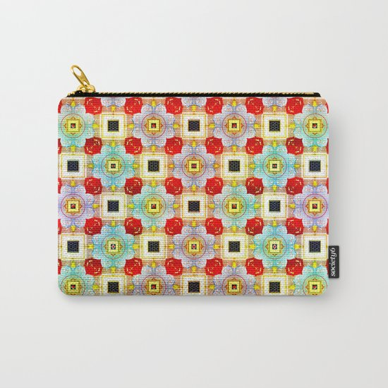 Embellecimiento Pattern Carry-All Pouch