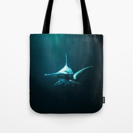 Hammerhead Shark (Color) Tote Bag