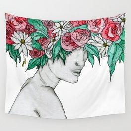 Femme d'Été Wall Tapestry