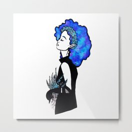 Blue Mind Metal Print