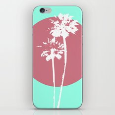 Two Palm Trees iPhone & iPod Skin
