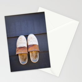 Typical dutch clogs Stationery Cards