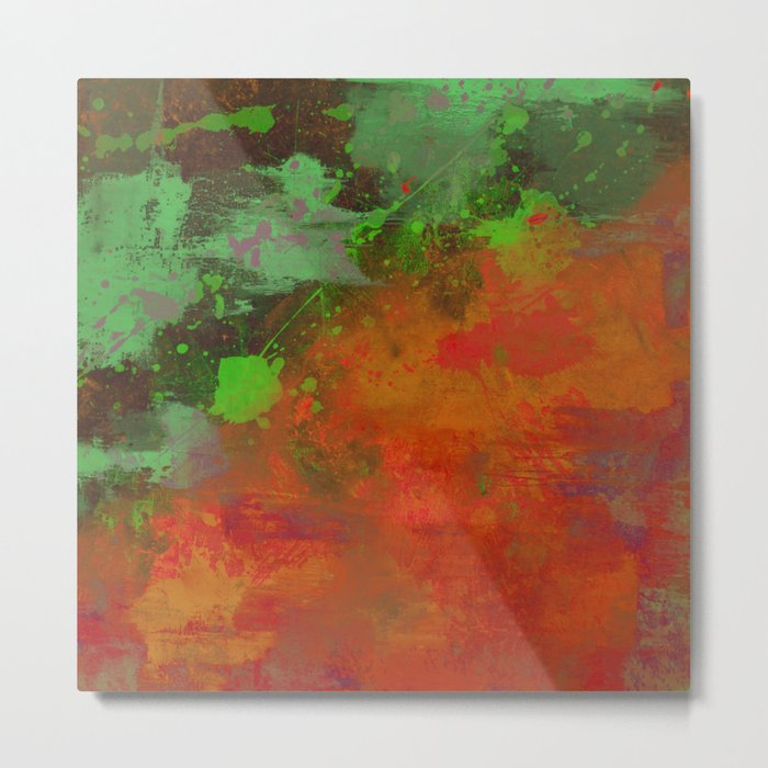 A Difference Of Opinion (Abstract painting) Metal Print