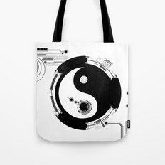 Tech Yin Yang Tote Bag