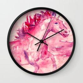 Moonshine Unicorn Wall Clock