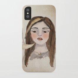 Anna Banana iPhone Case