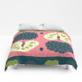 Tropical Paleo –Custard Apple in Pink Comforters