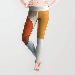 Abstraction_Balance_001 Leggings