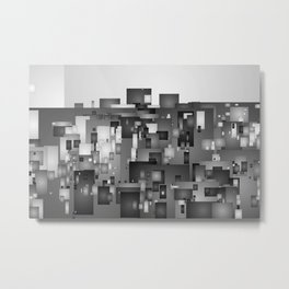 AbstractCity Metal Print