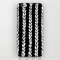 knit iPhone & iPod Skins featuring Knit 8 by Project M
