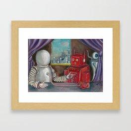 Robo Relations Framed Art Print