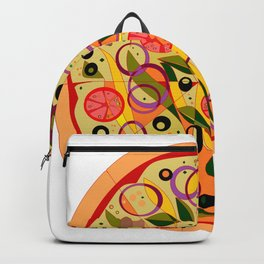 A Veggie Pizza, my Favorite Backpack