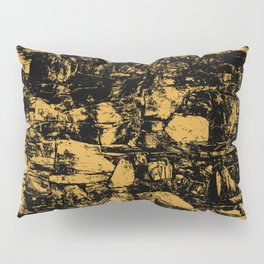 Mango Mojito Abstract Pillow Sham