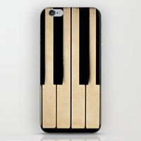 piano iPhone & iPod Skins featuring Piano by Sweet Moments Captured