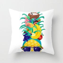 Chiquita Pineapple Throw Pillow