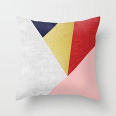 Golden art VII Throw Pillow
