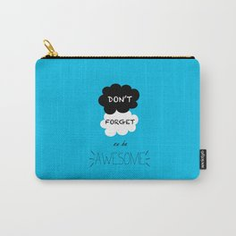 DFTBA TFIOS Nerdfighter Vlogbrothers Don't Forget to be Awesome, The Fault in Our Stars, John Green Carry-All Pouch