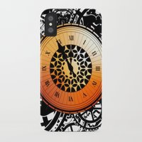 persona 4 iPhone & iPod Cases featuring Persona Q Clock by Laharl
